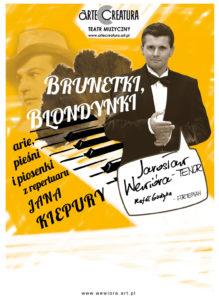 Brunetki blondynki recital kiepurowski, Sala balowa,  Stary dom zdrojowy, Krynica Zdrój, 6 VI 2017 godz. 19:00 @ Stary dom zdrojowy | Krynica-Zdrój | małopolskie | Polska